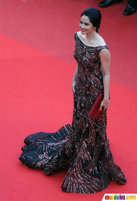 Rekomendasi Film Prancis | foto maudy koesnaedi til cantik di festival film
