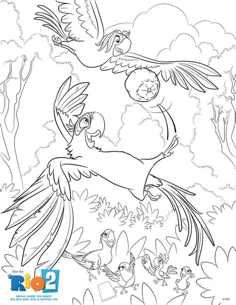 rio coloring pages games activities crafts a collection of ideas to try about