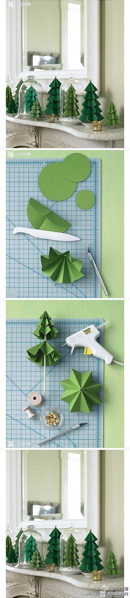 ornament origami violin viola cello diy crafts how to make paper craft christmas trees step by step diy