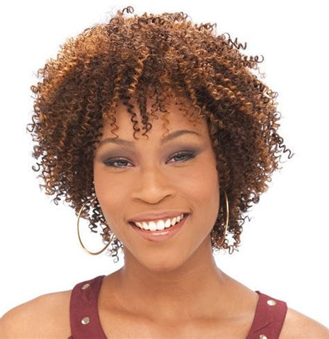 Small Afro Hairstyles by Afro Small Curls Hairstyle
