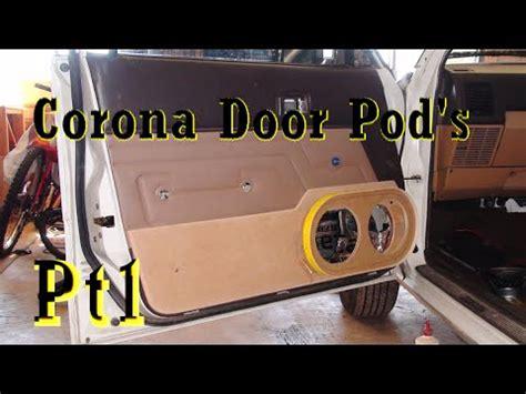 custom doors pods  dual  focal speakers pt   youtube