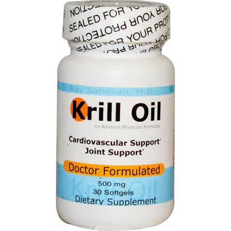 Krill And Detox by Krill 500 Mg 30 Softgels Advance Physician Formulas