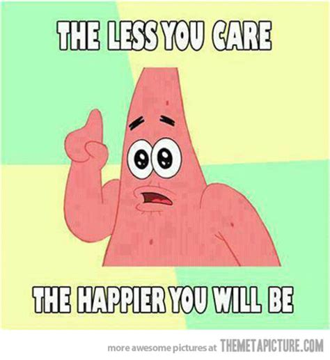 Funny Spongebob And Patrick Memes - patrick tells it like it is the meta picture