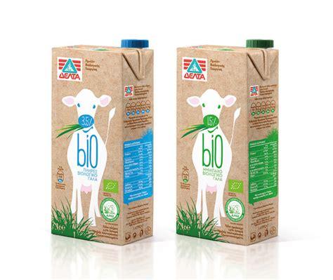 milk design greece delta bio organic milk the dieline package design resource