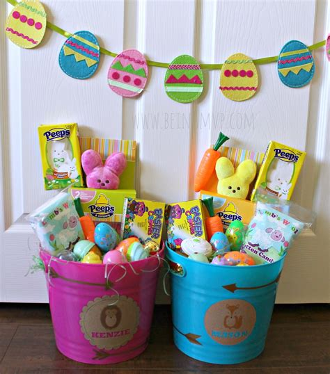 easter basket ideas being mvp easter basket ideas for little kids