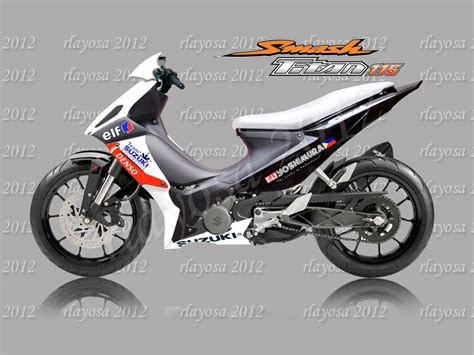 Modified Suzuki Smash Suzuki Suzuki Smash 115 Moto Zombdrive