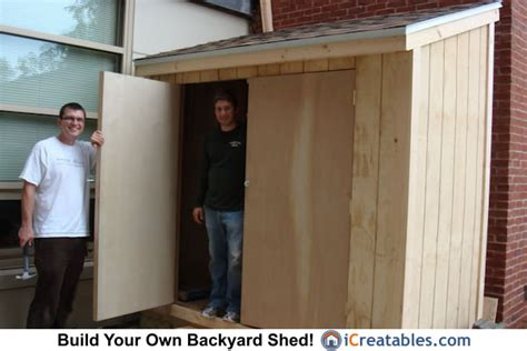 lean  shed plans storage shed plans icreatablescom
