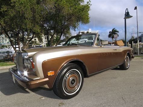 rolls royce 80s 1986 rolls royce corniche for sale