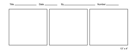 free comic templates printable comic template
