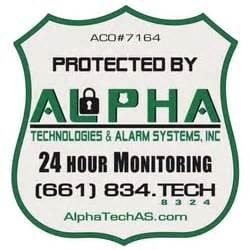 alpha technologies alarm systems inc security