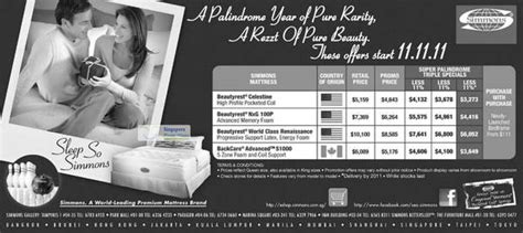 Simmons Mattress Singapore Price by Simmons 11 Nov 2011 187 Simmons Beautyrest Backcare