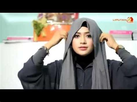 tutorial hijab pashmina simple tanpa menggunakan jarum video tutorial hijab natasha farani cara memakai jilbab