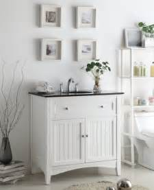 Beauty white cottage style bathroom vanities for beadboard