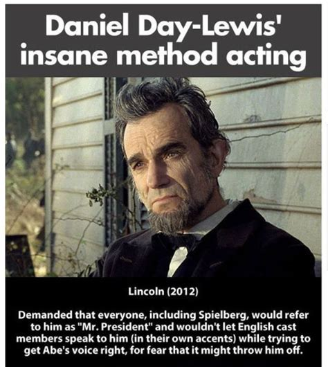 Lewis Meme - exles of the extreme method acting of daniel day lewis