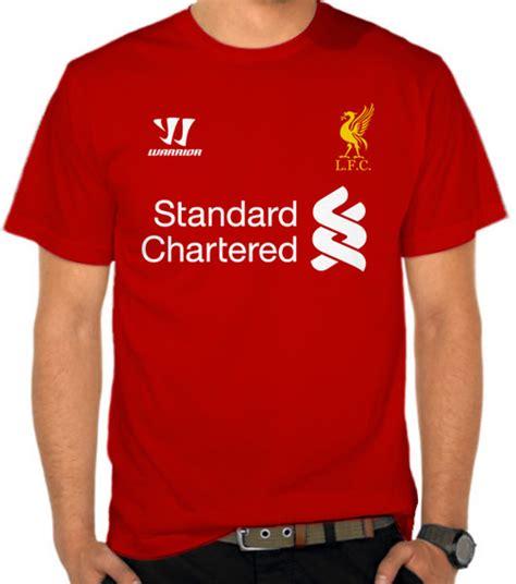 Kaos Bola Liverpool Signature 1 jual kaos liverpool fc t jersey liga inggris satubaju