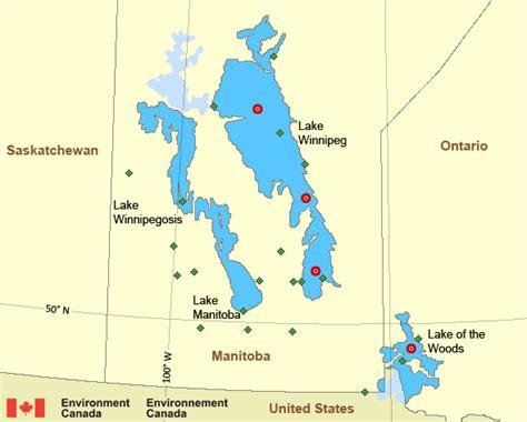 lake winnipeg basin manitoba lakes environment