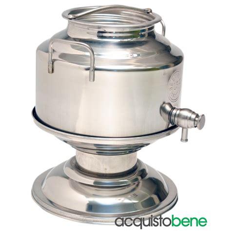 contenitori con rubinetto fusto contenitore per olio 5 lt in acciaio inox con
