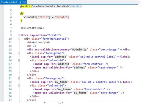 Asp Net | introducing asp net core mvc tag helpers intertech blog