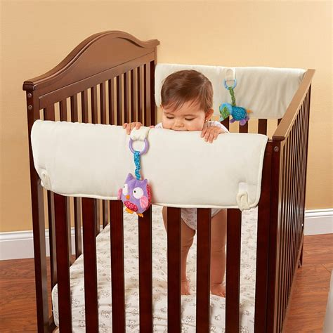 Side Crib Rail Cover by Babies R Us Crib Side Rail Covers 2 Pack