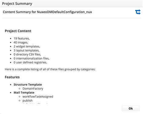 Using Application Templates Nuxeo Documentation Application Documentation Template