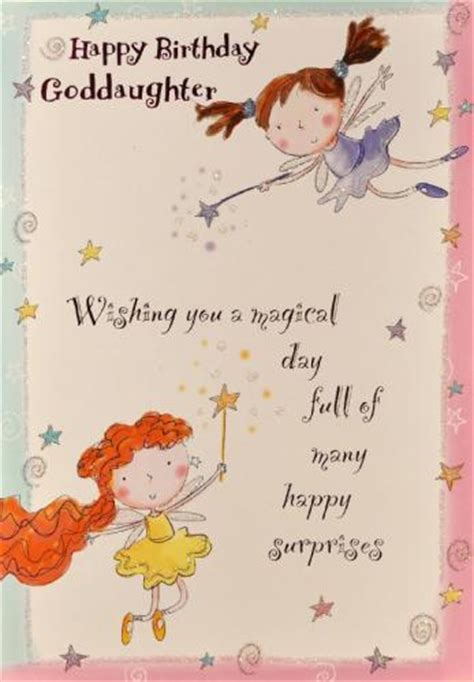 Happy Birthday Wishes For A Goddaughter Goddaughter Birthday Cards Greeting Cards Picture This