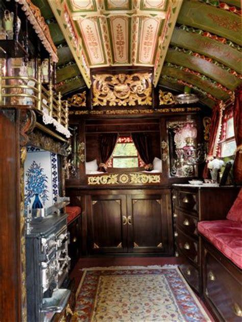 Vardo Interior by Vardo Wagon Plans Studio Design Gallery Best Design