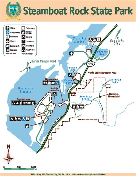 steamboat rock state park map steamboat rock state park map 51052 highway 155 electric