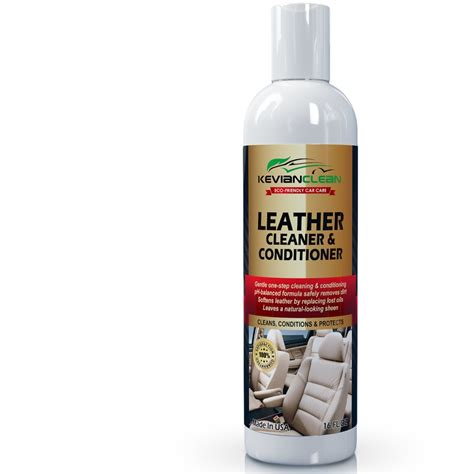 Leather Upholstery Cleaner And Conditioner Leather Cleaner Amp Conditioner By Kevianclean Auto