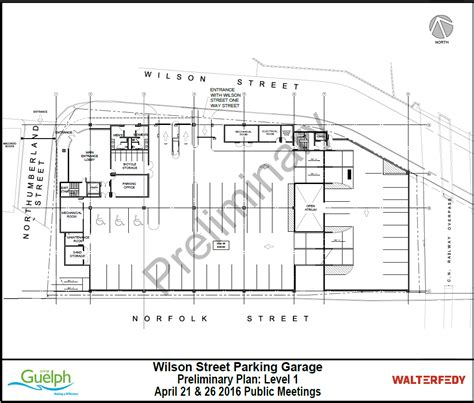 Garage Design Solutions wilson street reconstruction and parkade city of guelph