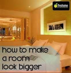 how to make a small room look bigger 5 tips for fooling the eye and making a room look bigger freshome com