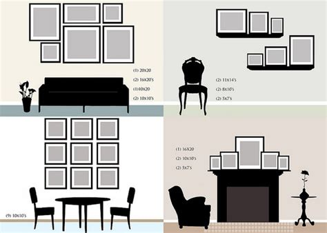 wall templates for hanging pictures useful ideas and layouts to create a photo gallery wall