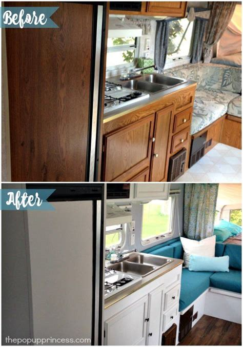 nuvo cabinet paint uk s hybrid travel trailer makeover cer