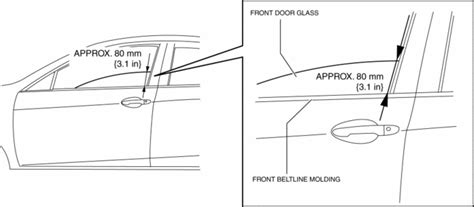 Mazda 3 Service Manual Front Door Latch Switch