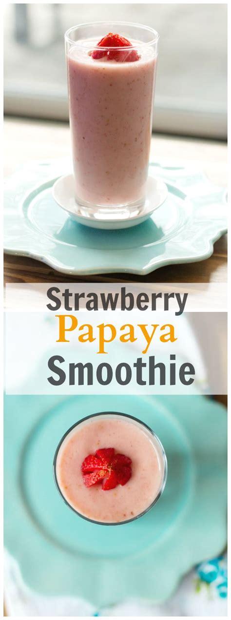 Papaya Seed Detox Recipe by 25 Best Ideas About Papaya Smoothie On Papaya
