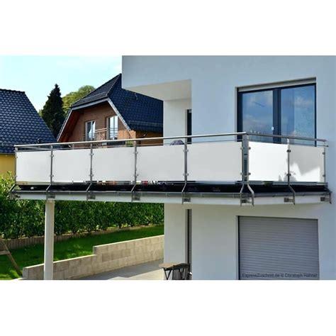 Balkon Sichtschutz Weiß hpl fassadenplatten weia zuschnitt nach maa sichtschutz