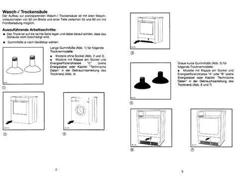 Halterung Trockner Auf Waschmaschine by Universal Befestigung Wasch Trockners 228 Ule Waschmaschine