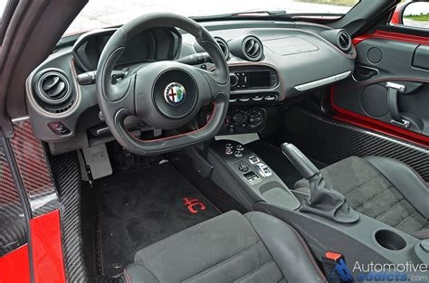 Alfa Romeo 4c Interior by 2015 Alfa Romeo 4c Review Test Drive