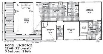 Double Wide Floor Plans Double Wide Mobile Home Floor Plans Viewing Gallery