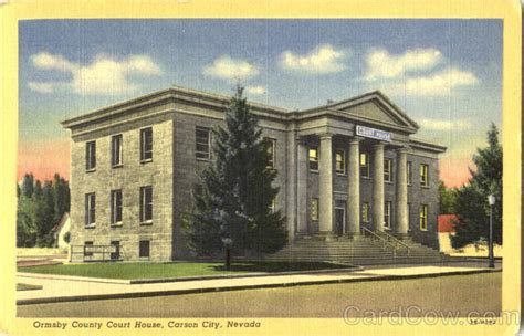 Carson City Court Search Ormsby County Court House Carson City Nv