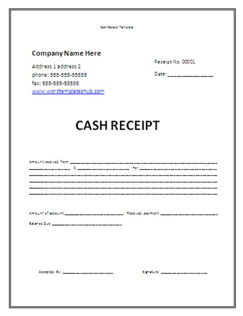 money receipt template receipt template helloalive