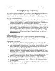 Exle Personal Essay by Resume Personal Statement Writing