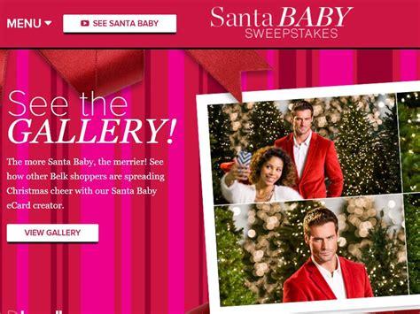 Belk Sweepstakes - the belk santa baby sweepstakes