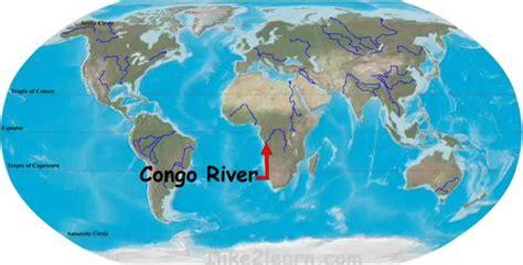 congo river map congo river
