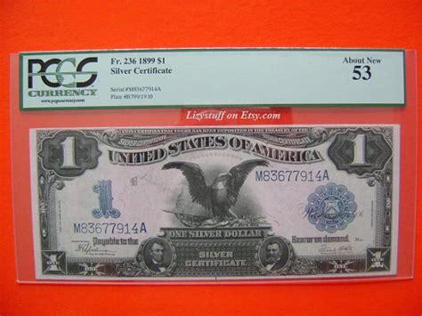 1 dollar black eagle beautiful 1899 us black eagle one 1 dollar bill by lizystuff