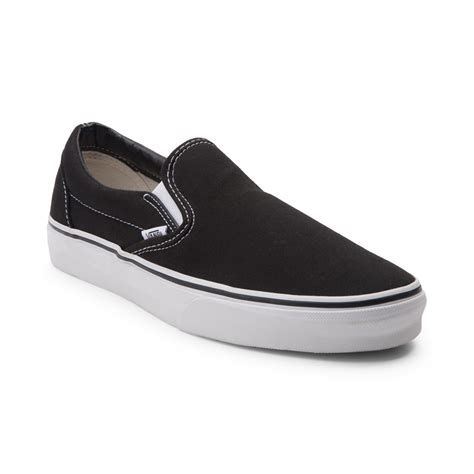 Vans Slop For vans slip on skate shoe black 498540