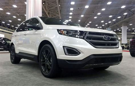 2020 Ford Edge Sport by 2020 Ford Edge Specs Sport Review Colors Spirotours