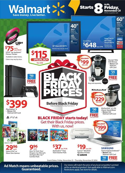 black friday 2015 walmart target kohls ads and hours walmart pre black friday 2015ad1 black friday 2017 ads