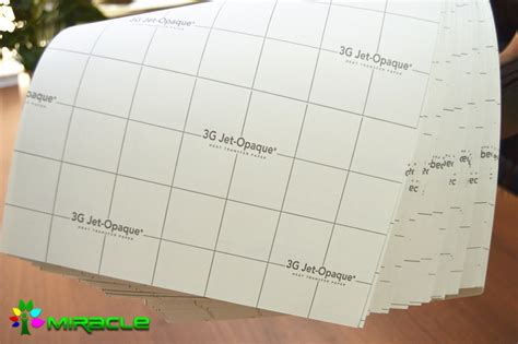 Transfer Paper 3g Opaque 3g opaque heat transfer printing paper a4 size buy