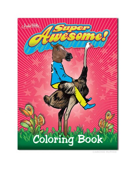 awesome coloring books awesome coloring book