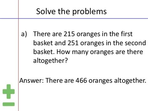 math problem solving for 3rd grade